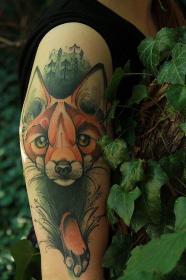 22 Fox Tattoos tattoos