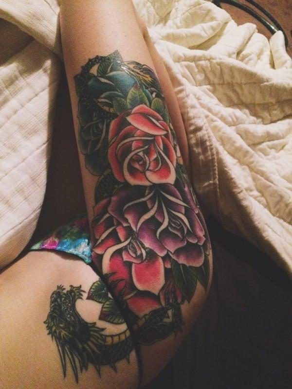 24-dragon tattoos