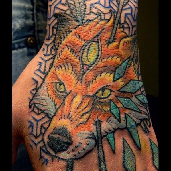 24 Fox Tattoos tattoos