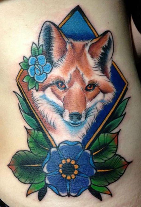 3-fox tattoos tattoos