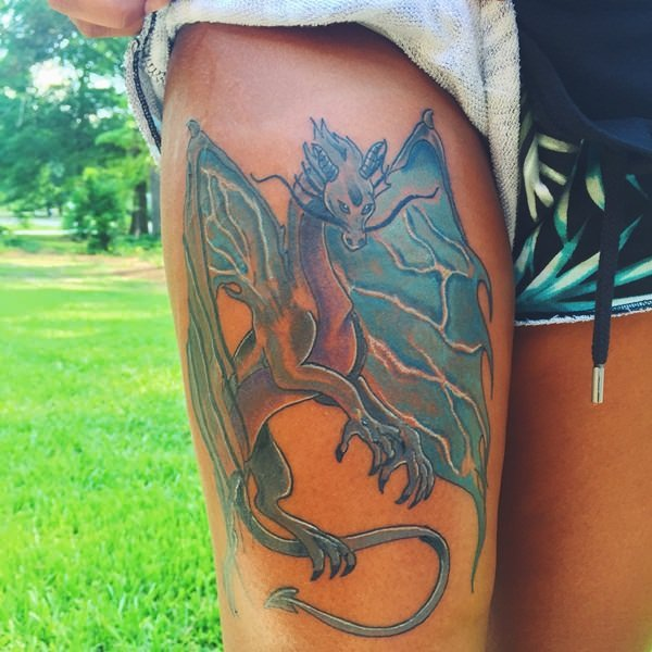 39-dragon tattoos
