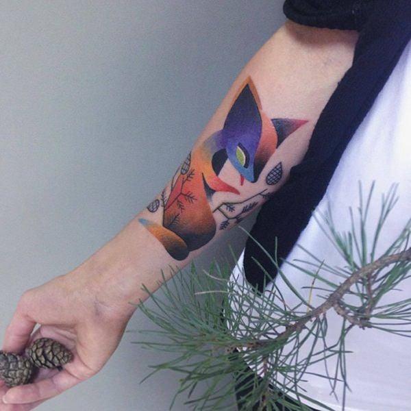 4-fox tattoos tattoos