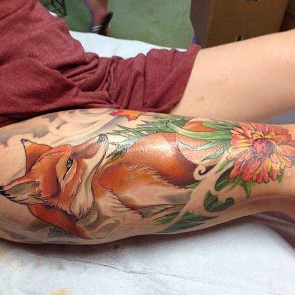 41-fox tattoos tattoos