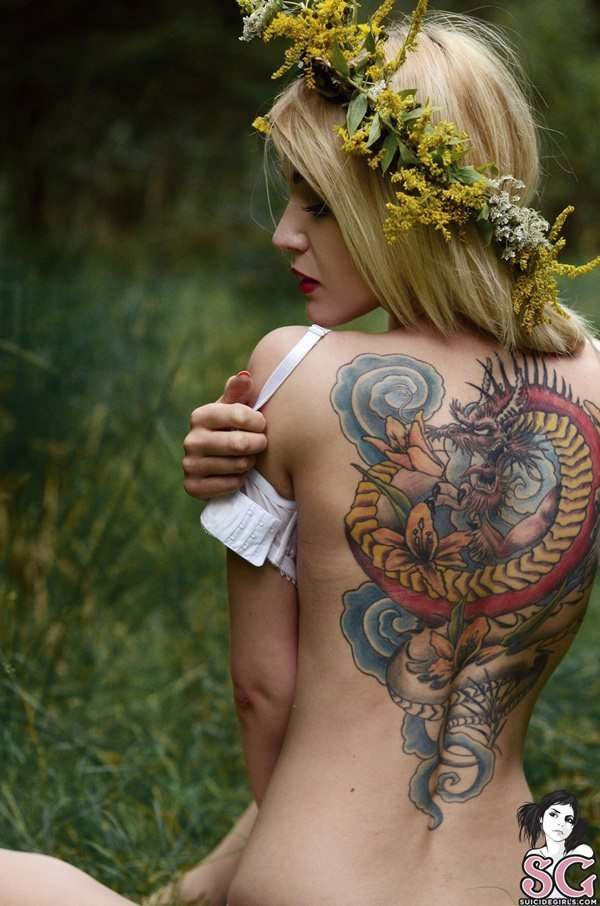 44-dragon tattoos