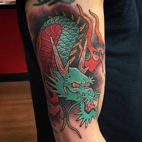 Dragon Tattoos 101: (Pictures with Meaning)