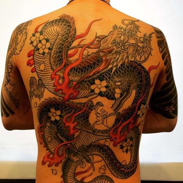 52-dragon tattoos