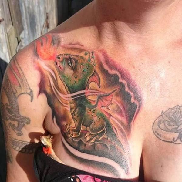 53-dragon tattoos