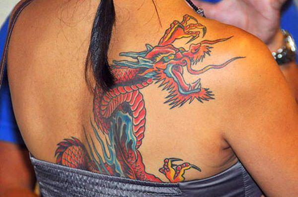 55-dragon tattoos