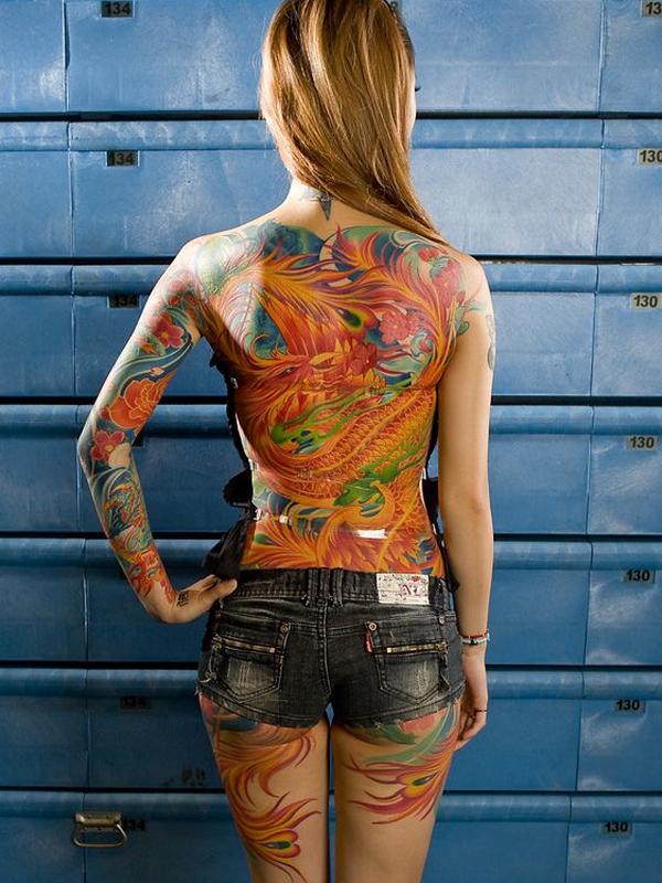 57-dragon tattoos