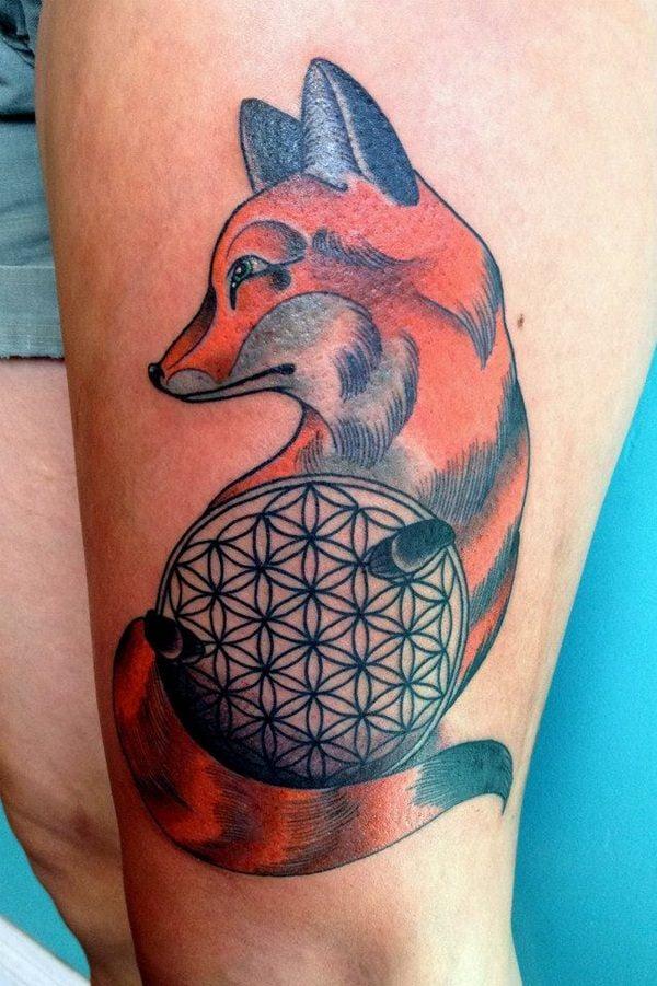 6-fox tattoos tattoos