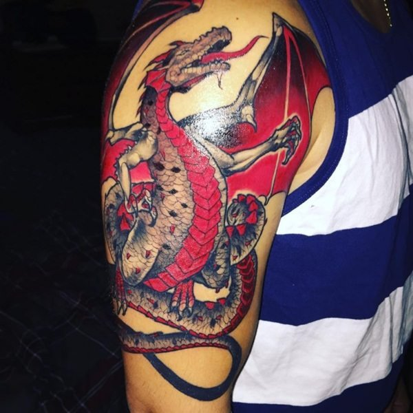 60-dragon tattoos