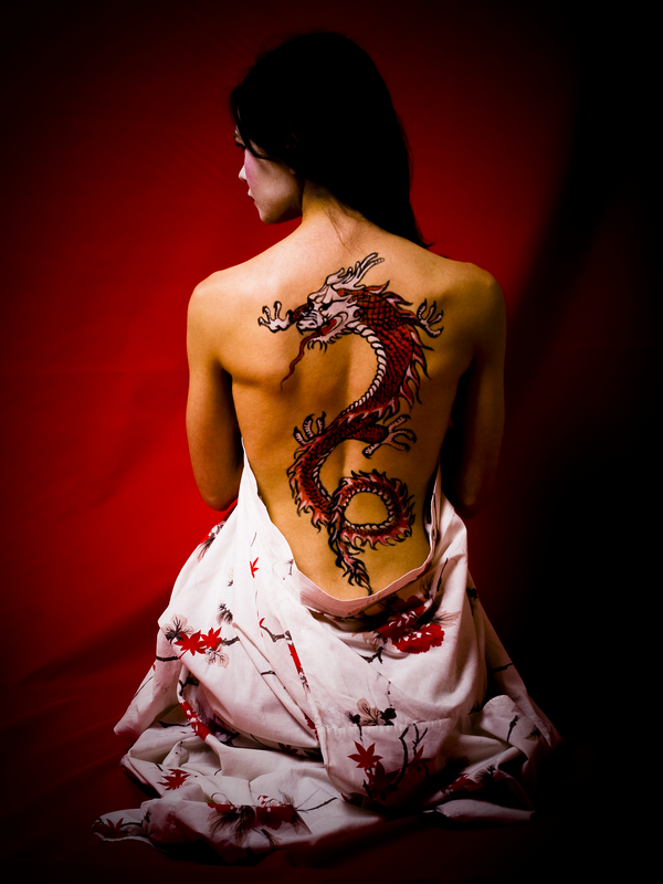 61-dragon tattoos