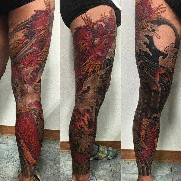 7-dragon tattoos