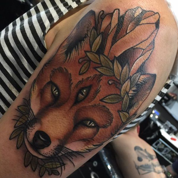 45 Fox Tattoos (Eye Catching & Unique Designs