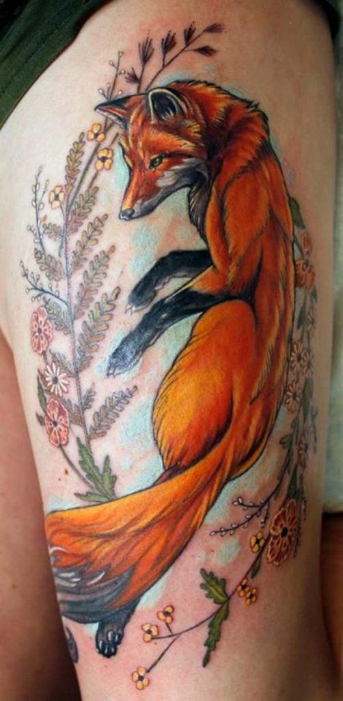 9-fox tattoos tattoos