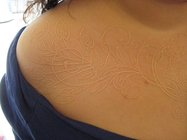 white ink tattoos-37