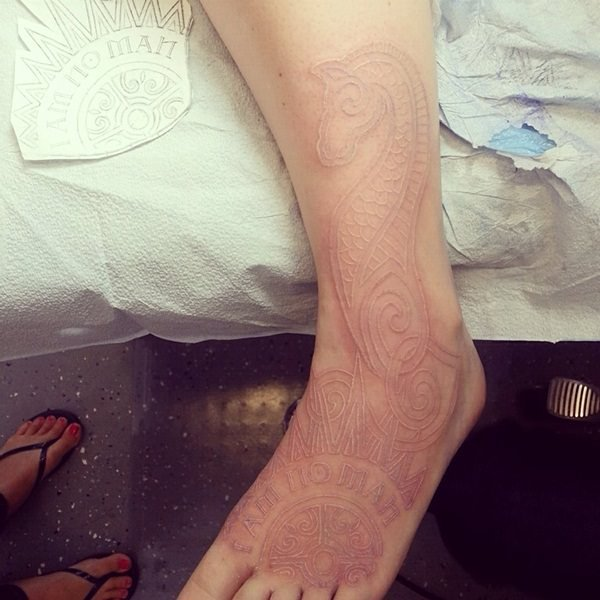 white ink tattoos-38