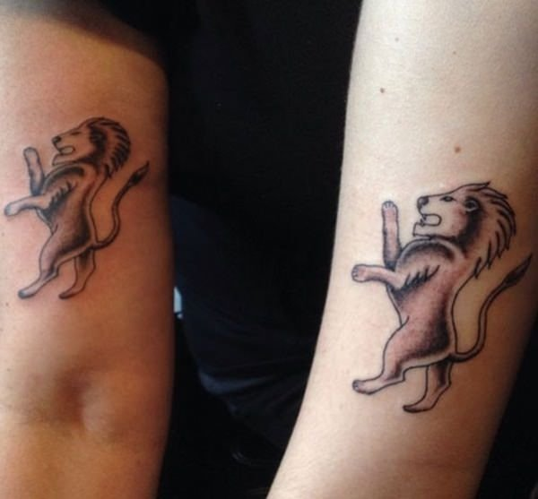 Cute Mother Daughter Affectionate Tattoos: 40 Amazing Mother Daughter Tattoo Ideas