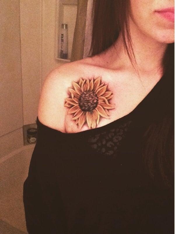 16sunflower-tattoo-designs