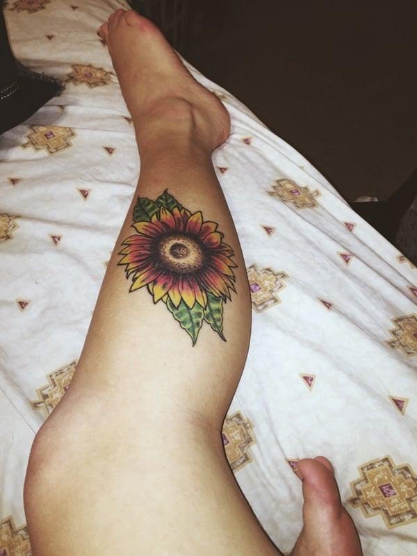 25sunflower-tattoo-designs
