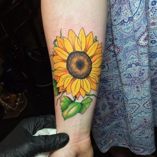 36sunflower-tattoo-designs