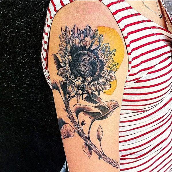 37sunflower-tattoo-designs