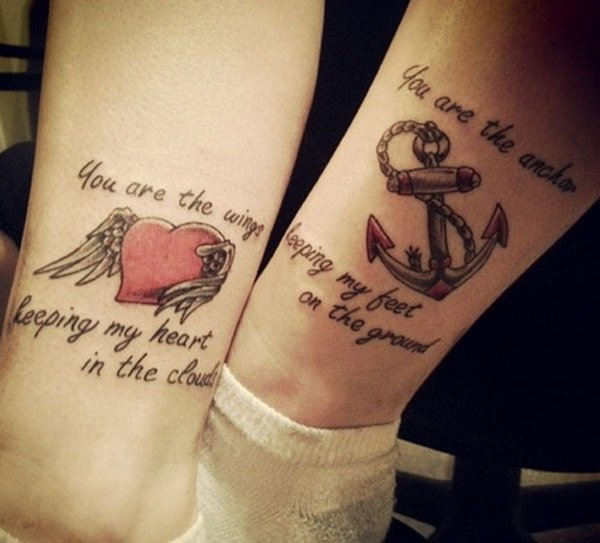 Cool Mother Daughter Tattoos: 40 Amazing Mother Daughter Tattoo Ideas