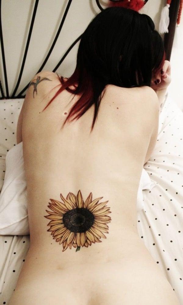 3sunflower-tattoo-designs