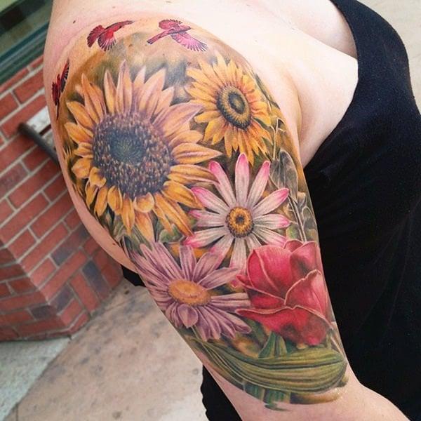 41sunflower-tattoo-designs