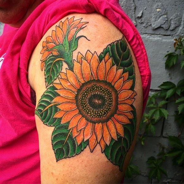 42sunflower-tattoo-designs