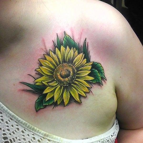 44sunflower-tattoo-designs