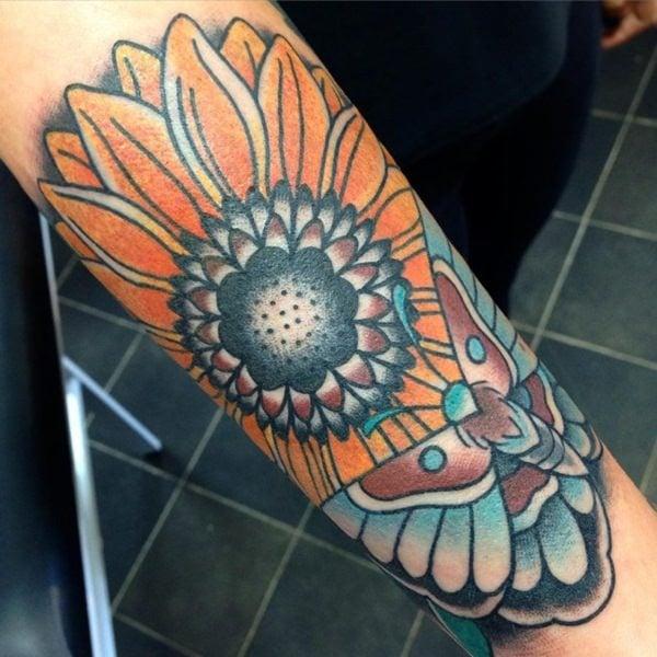 48sunflower-tattoo-designs