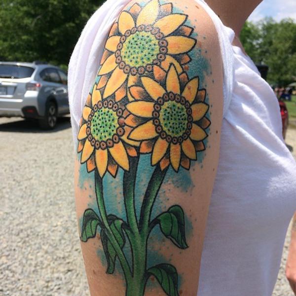 50sunflower-tattoo-designs