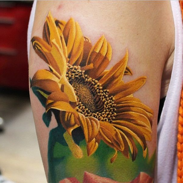 54sunflower-tattoo-designs