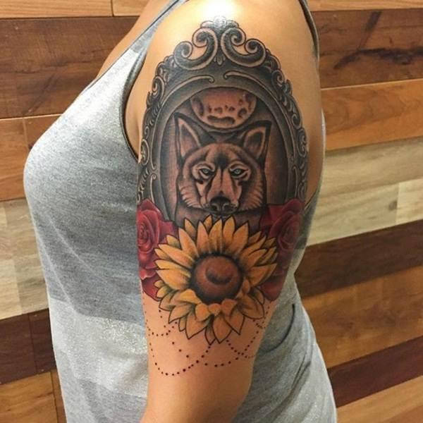 61sunflower-tattoo-designs