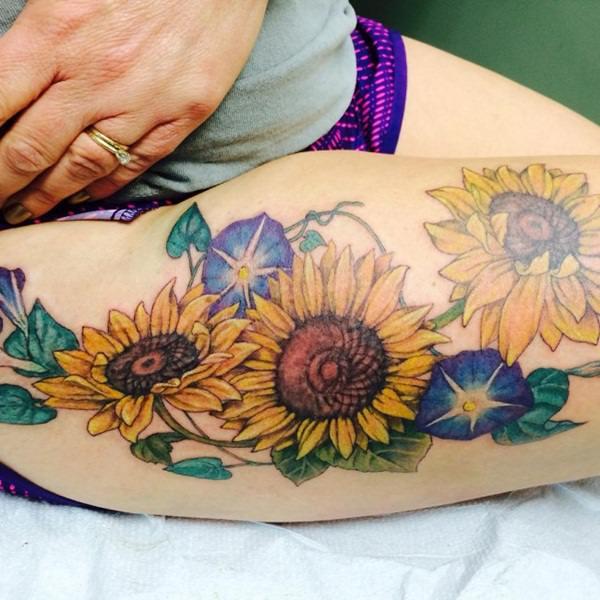 62sunflower-tattoo-designs