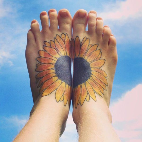 64sunflower-tattoo-designs
