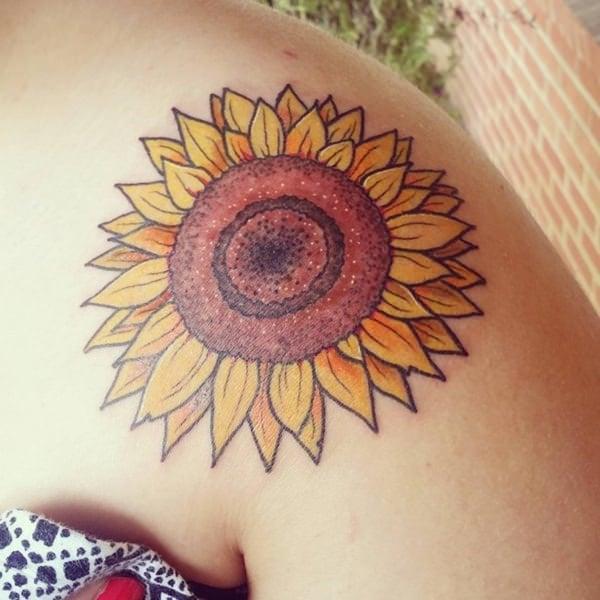 65sunflower-tattoo-designs