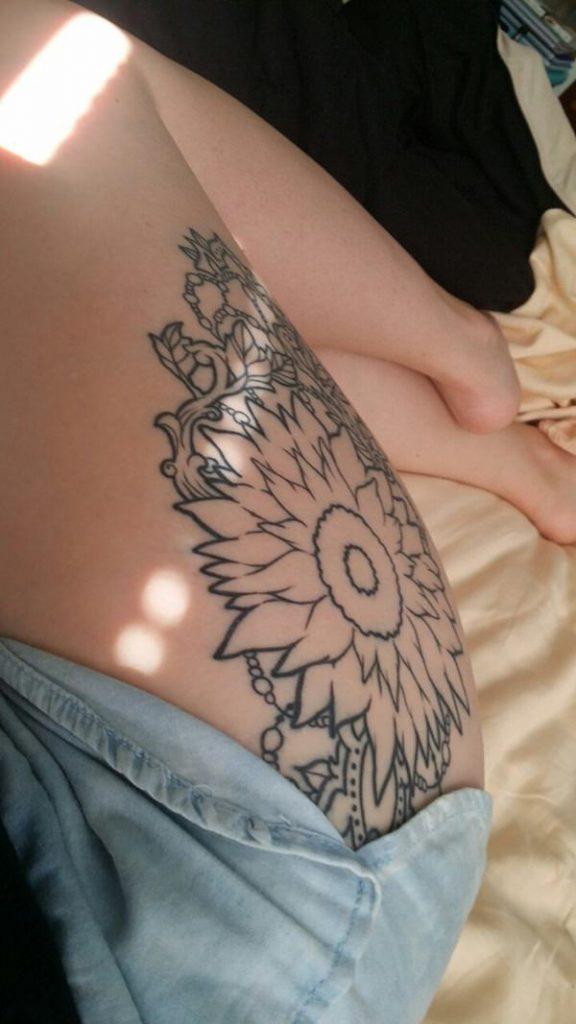 7sunflower-tattoo-designs