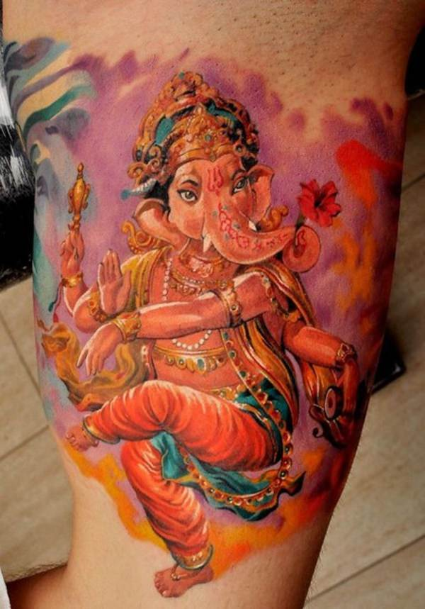 33 Iconic Hindu Tattoos That Will Inspire You Indian Lord Tattoo Design