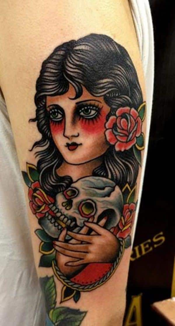 55 Beautiful Gypsy Tattoos for Those Forever Wandering