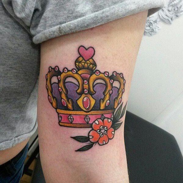 11250716-king-queen-tattoos