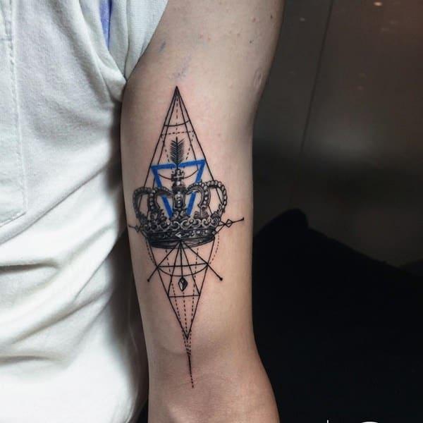12250716-king-queen-tattoos