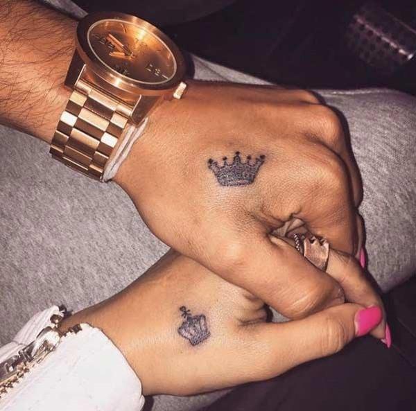 29250716-king-queen-tattoos