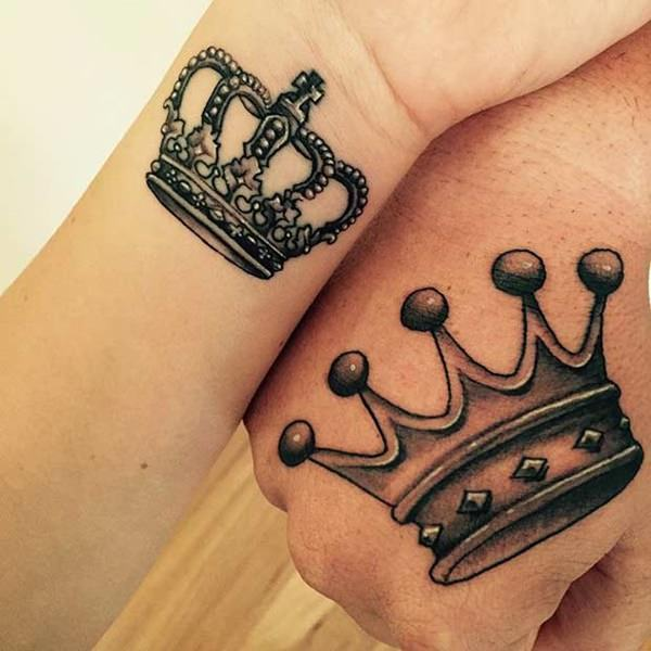 40 King And Queen Tattoos For Lovers That Kick Ass