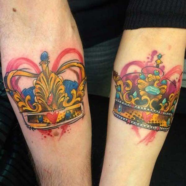 35250716-king-queen-tattoos