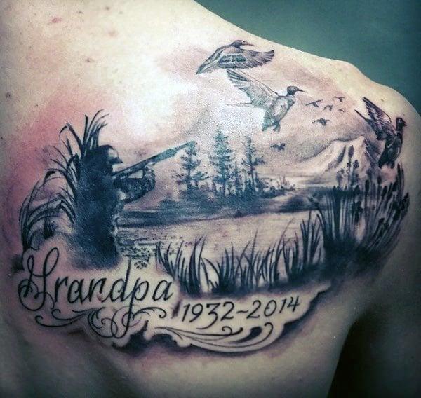 Dark Hunter Tattoo Design