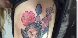 pocket-watch-tattoos