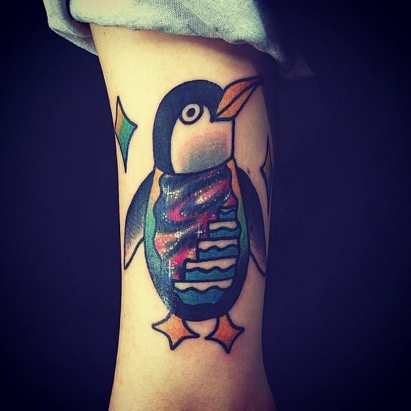 10 Penguin Tattoo Designs And Ideas: 45 Sweet And Funny Penguin Ideas For Your Next Tattoo