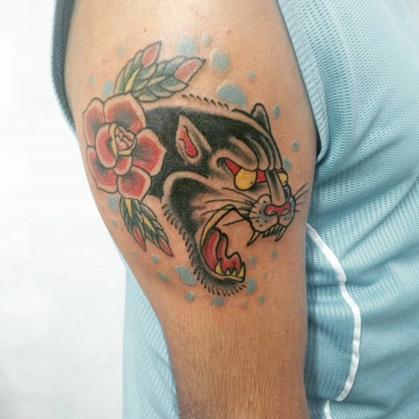 75 Fierce And Powerful Panther Tattoo Ideas